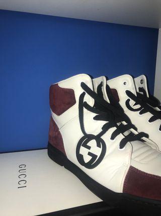 Zapatillas Gucci altas