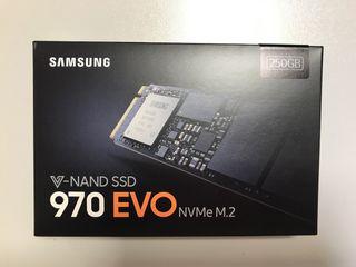 Disco Duro SSD NVMe M2 250 GB