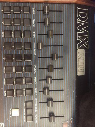 Oberheim DMX midi caja de ritmos