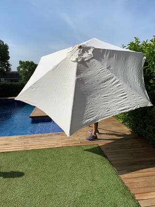 Parasol terraza