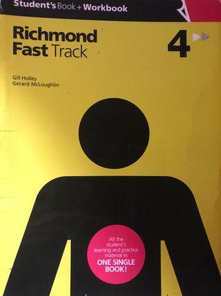 Libro inglés Richmond Fast Track 4to ESO
