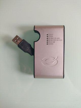 Adaptador lector de tarjetas/USB