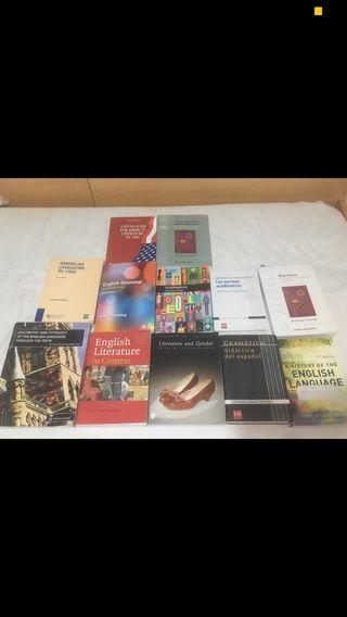 Libros Estudios Ingleses UNED