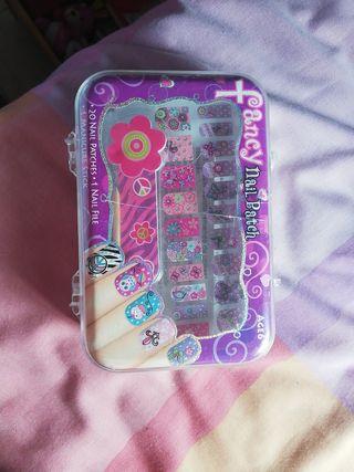 set de uñas