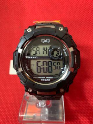 Reloj Q&Q hombre digital mod/ M125J001 NUEVO