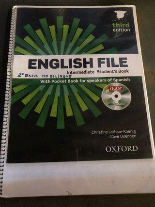 Libro inglés segundo bachillerato