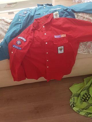 Camisas uniforme scout