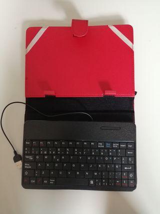 Funda-teclado tablet 7'9 pulgadas A ESTRENAR
