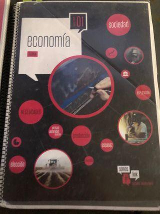 Libros economía primero bachillerato