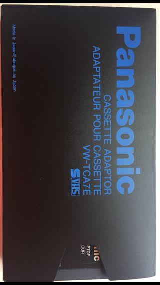 Cassetter Adaptador Panasonic