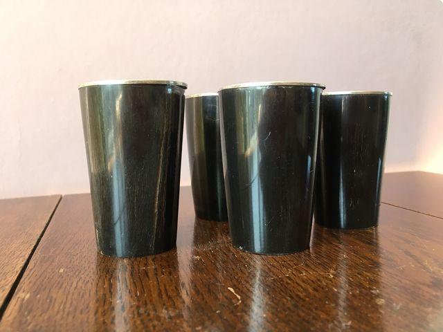 Vintage Horn Egg Cup Holders