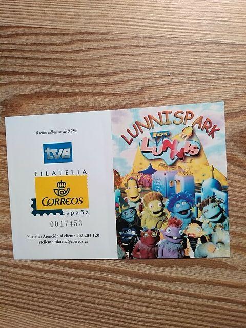 carnet de sellos Los Lunnis