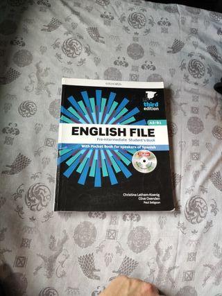 Libro Inglés A1/B1 escuela de idiomas