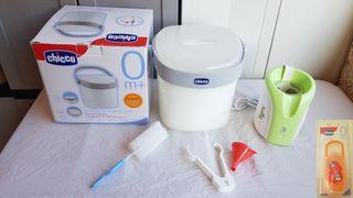 Esterilizador chicco sterilbox y tigex