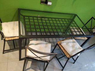 Conjunto mesa y sillas comedor ikea