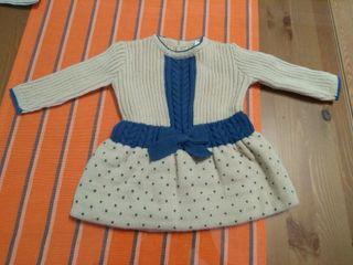 vestido bebé 1 mes