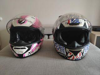 cascos Scorpions chico y chica