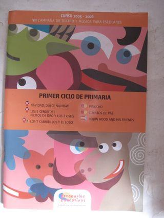 libro primero ciclo primaria teatro música escolar