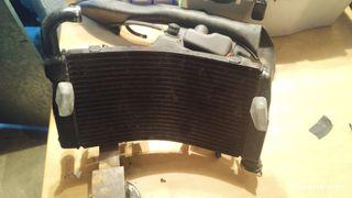 radiador de agua ducati 749 / 999