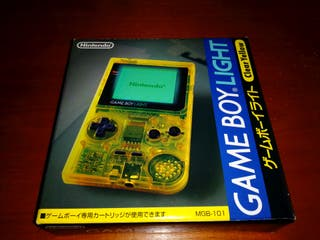 Nintendo Game Boy Light Clear Yellow Toys R LIGHT