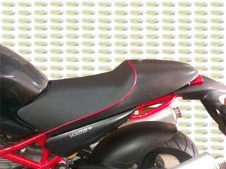 Restauración Asiento Moto Cuero