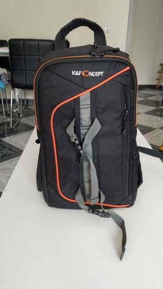 mochila cámara réflex Nikon Canon Sony