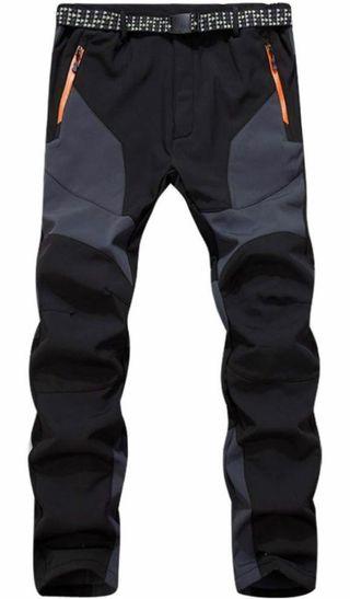 Pantalón trekking mujer negro