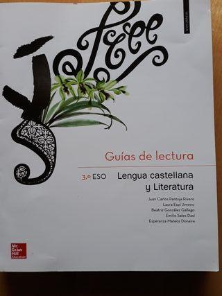 3 eso guias de lectura lengua castellana y literat