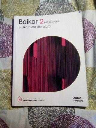 libro euskera Baikor