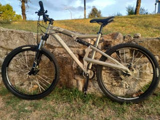 bicicleta de montaña rockrider 6.3 M muy nueva