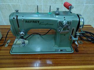 máquina de coser refrey trasforma 427