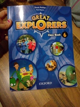 libro ingles 6 primaria