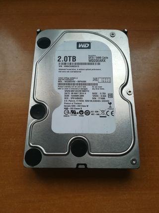 Disco duro WD 2 TB