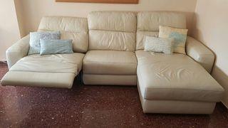 sofa 3 plazas con chaise longue automatico