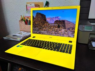 Portátil Acer Intel i5 8gb de RAM