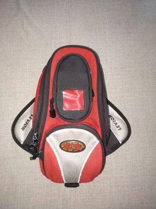 mochila de depósito moto