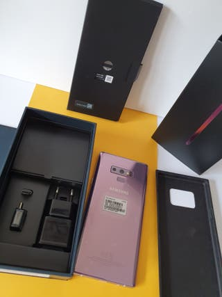 Galaxy note 9 128 gb 6 Ram Lila purple Dual SIM!!!