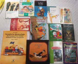 Libros juveniles y infantiles.