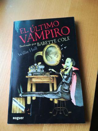 """libro """"el último vampiro"""""""