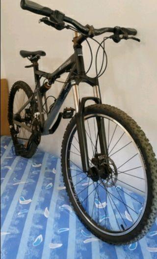 bicicleta de montaña rockrider 6.3 M mejorada