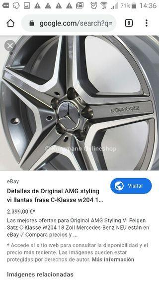 """llantas AMG originales """"DOBLE""""medida"""