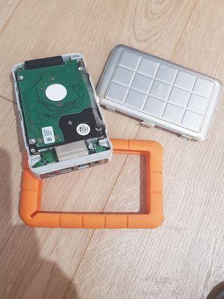 lacie rugged disco duro Firewire 400 y 800