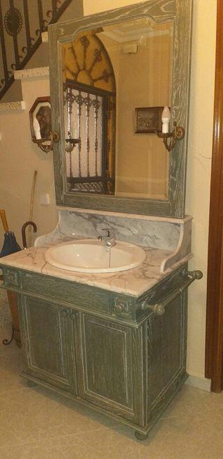 Mueble de baño vintage