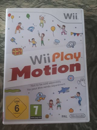 JUEGO Wii Play Motion