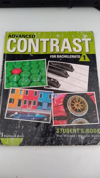 Libro Ingles 1º bachto. ISBN: 978-9963-48-865-0