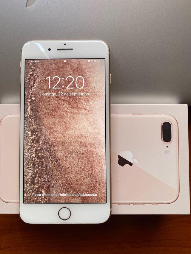 Iphone 8 plus Oro 64gb