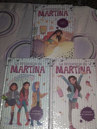 Libros de la diversion de martina.