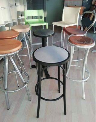 taburetes de bar nuevos de exposicion