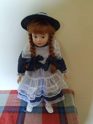 muñeca de porcela de colección x 10€