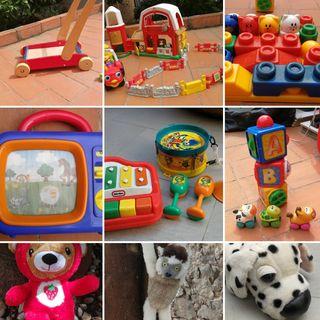 lote juguetes de calidad, 0-3 años